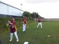 Rookies getting in practice