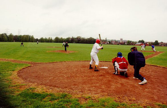 first game pitch