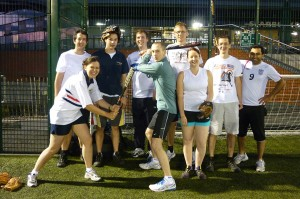 Corporate Softball Team at Surrey Sports Park